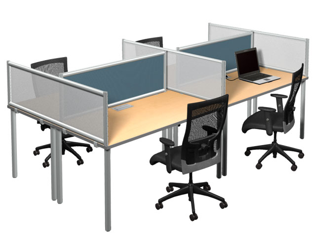 Amazing TableTop Desk Mounted Privacy Screens