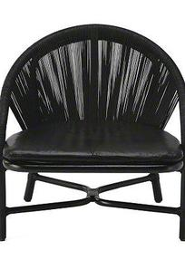 BASSAMFELLOWS CRESCENT LOUNGE CHAIR on Designer Page