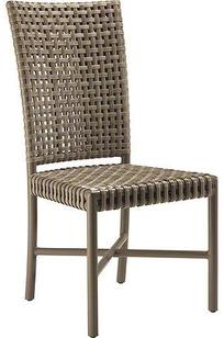 ANTALYA OUTDOOR TALL BACK SIDE CHAIR on Designer Page
