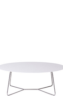 Lounge Table 110 - Slim Collection on Designer Page