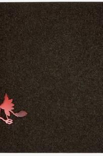 Red Flower on Designer Page