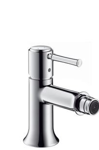 Talis Classic Single lever bidet mixer with pop-up waste set on Designer Page