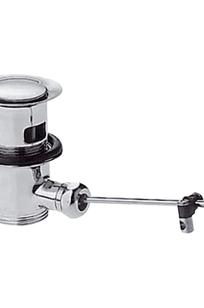 Pop-up waste set for basin and bidet mixers on Designer Page