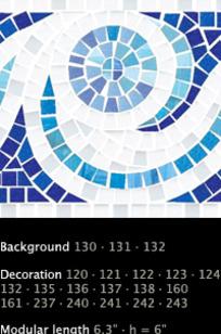 Aquatica Border Fox Trot on Designer Page
