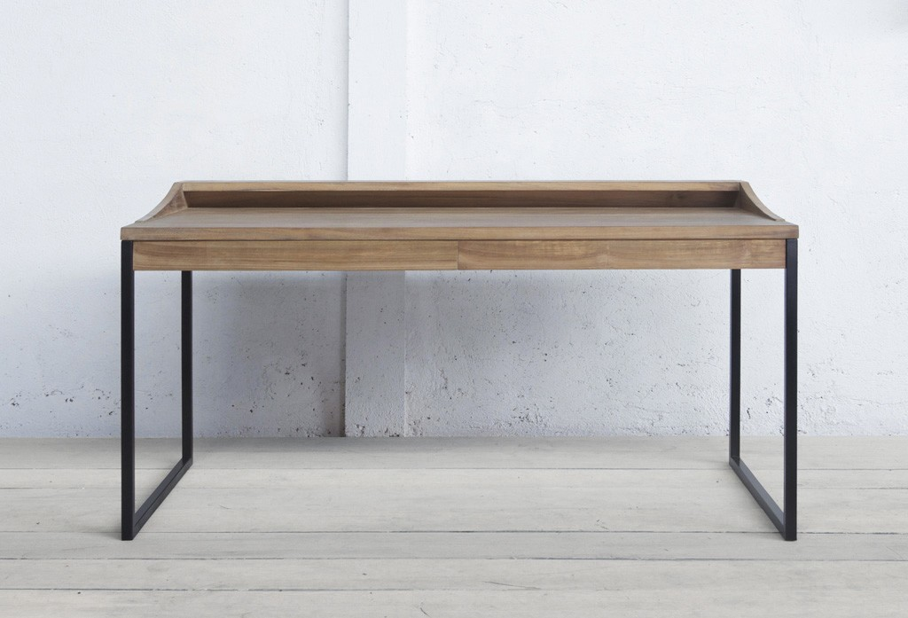 Mead Writing Desk On Designer Pages - Contemporary writing desk furniture