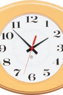 """Model 402 15-1/2""""w Oval Clock without Acrylic Cover on Designer Page"""
