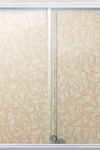 """Model MMD2-2424 36"""" x 24"""" MiniMint•А_ Wall Mounted Bulletin/Tack Board - Glass Enclosed on Designer Page"""