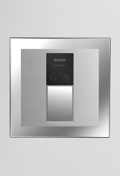 Tet3ln33     sensor toilet flush valve  concealed 4  x 4   back spud floor      1 28 gpf