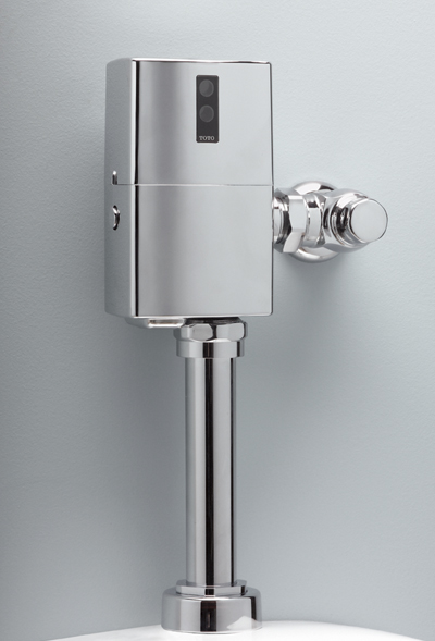 Tet6ln     ecopower  toilet flushometer valve only     1 28 gpf  24  v b