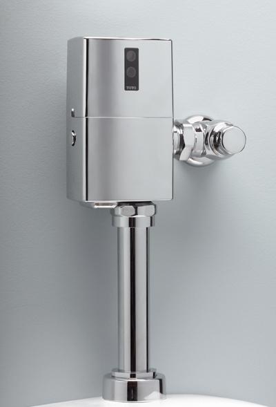 Tet6ln32     ecopower  toilet flushometer valve     1 28 gpf  24  v b