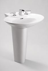 LPT908N  -  Pacifica Pedestal Lavatory