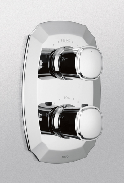 Ts970c     guinevere  thermostatic mixing valve with one   way volume control