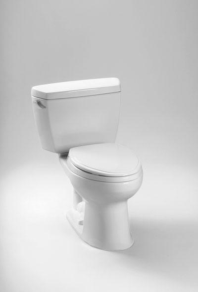 Cst744eg     eco drake  toilet  1 28 gpf     sanagloss