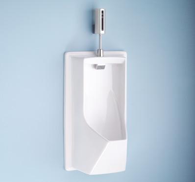 Ue930     lloyd urinal with electronic flush valve     ada