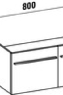 PALOMBA COLLECTION  - 421235 - Vanity Unit on Designer Page