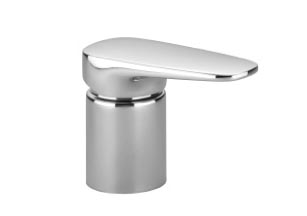 Gentle   single lever mixer for deck mounted tub installation   29200720 1