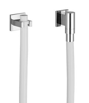 Tara  logic   watertube kneipp wall attachment arc with hose holder  with single rosette   27822979 1
