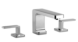 Lulu   three hole lavatory mixer with individual flanges   20713710 1