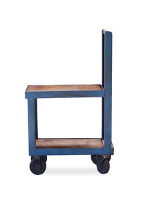 Crash Small Industrial Rolling Cart on Designer Page