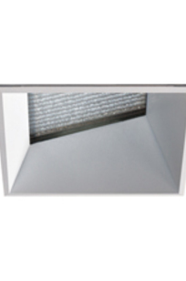 """Evoke 2.9"""" Square Lens Wall Wash Gen 2 HP Trimless LED on Designer Page"""