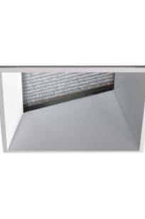 """Evoke 2.9"""" Square Lens Wall Wash Trimless CMH, MR16 HAL on Designer Page"""