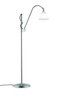 Bestlite BL3S Floorlamp bone china/chrom on Designer Page