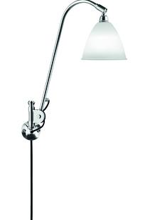 Bestlite BL6 Wall lamp bone china/chrome on Designer Page