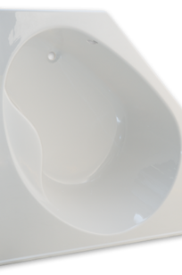 Scala 60 Inch by 60 Inch Corner Bathtub on Designer Page