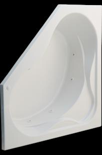 Colony 60 Inch by 60 Inch Corner Bathtub on Designer Page