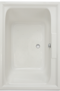 Town Square 60 Inch by 42 Inch EverClean Air Bath on Designer Page