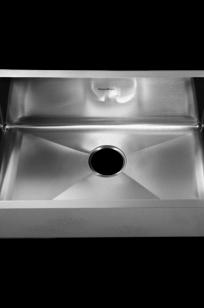 Prevoir Stainless Steel Undermount 35 Inch by 18 Inch 1-Bowl Kitchen Sink on Designer Page