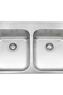 ADA Double Bowl 33 Inch 18 Gauge Kitchen Sink on Designer Page