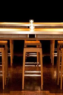 Custom Library Table @ Bar on Designer Page