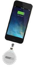ChargeSpot Spark - wireless charging receiver (lightning)