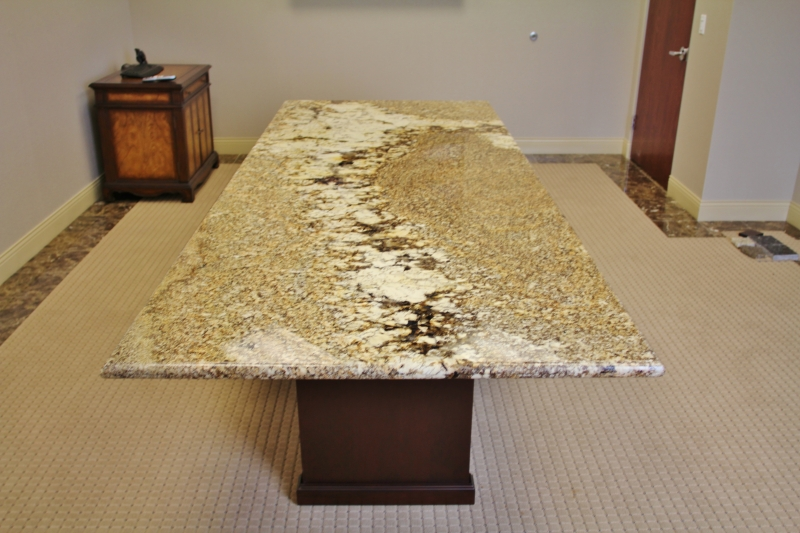Ct Star Beach Granite Conference Table On Designer Pages - Granite conference table