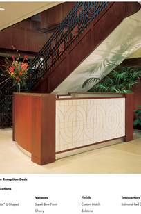 Rd-08: U-Shaped Reception Desk on Designer Page