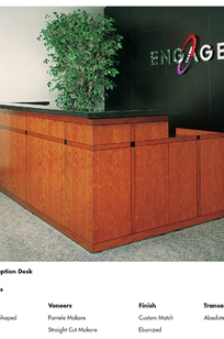 Rd-09: U-Shaped Reception Desk on Designer Page