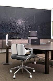 Premio executive desks & CP Climate Wall on Designer Page