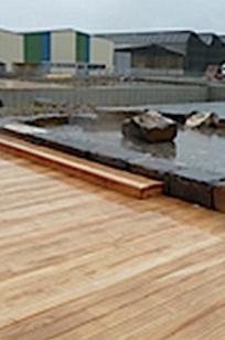Accoya Wood on Designer Page