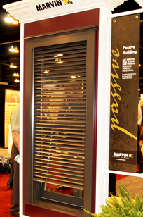Marvin Exterior Roller Shades on Designer Page