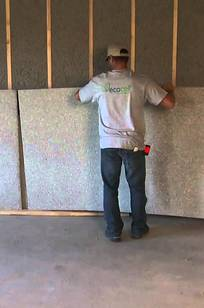 Ecocell Cellulose Batts and Blanket Insulation on Designer Page