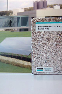 Dow Corning Vacuum Insulation Panels on Designer Page