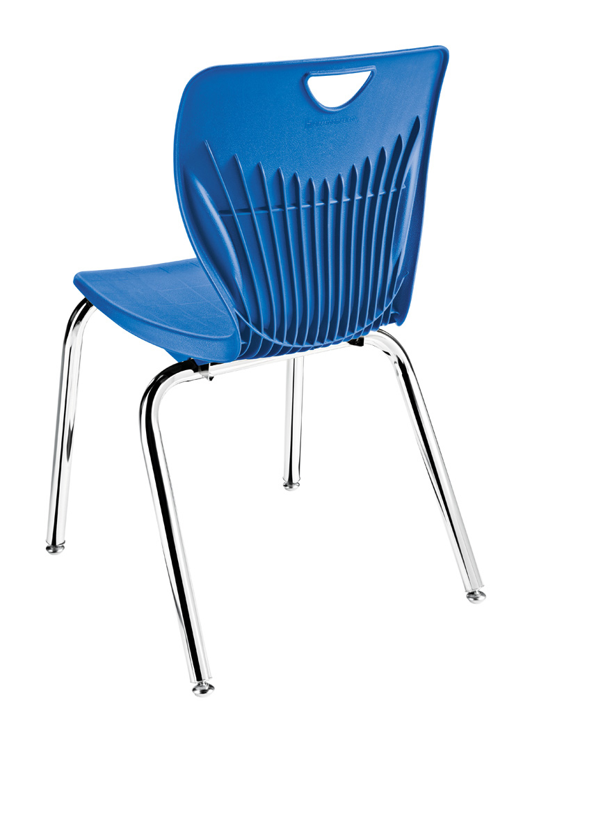 Contemporary Four Leg Stack Chair
