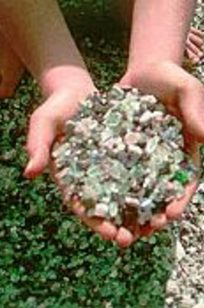 Recycled Glass for Landscaping on Designer Page