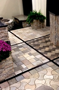 Recycled Granite Pavers on Designer Page