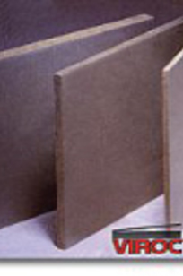 Viroc Cement-Bonded Particleboard on Designer Page