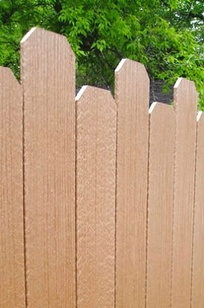 TerraFence and TerraDeck Composite Wood Products on Designer Page