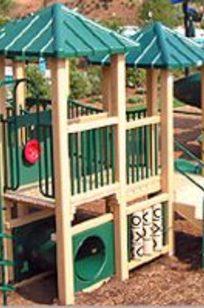 Safeplay Playground Equipment on Designer Page