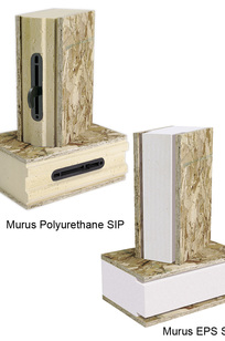 Murus EPS and Polyurethane Structural Insulated Panels on Designer Page