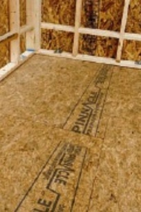 Pinnacle OSB Sub-Flooring on Designer Page